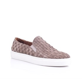 Vizon Örgü Slip On Sneaker - GIGI