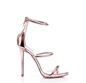 Bronz Platform High Heels - LISA