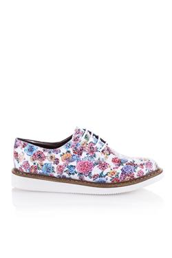 Beyaz Flower Oxford - Camillia