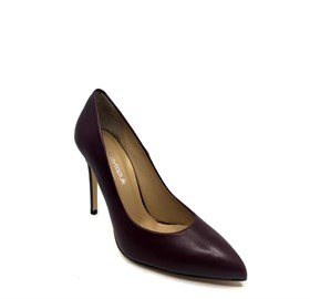 Bordo Deri Stiletto - CAMILLA